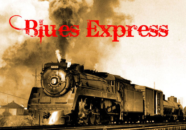 Team Building blues express logo